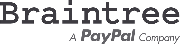 PayPal and Braintree logos